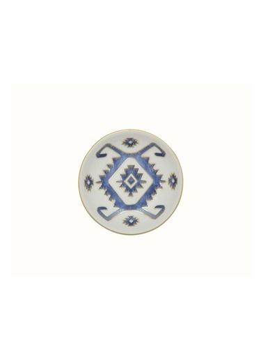 Porland Porland Arabesque Desen5 Mini Kase 10Cm Renkli